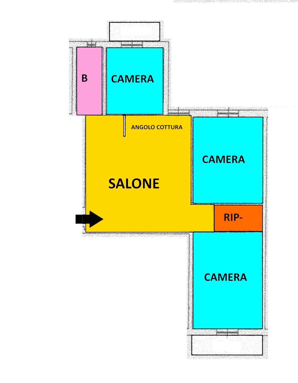 rif. 74 Savona zona Piazza Saffi